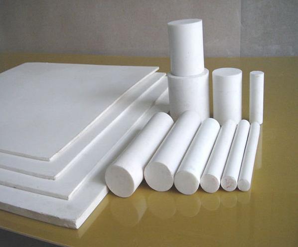 nhựa teflon màu trắng sữa