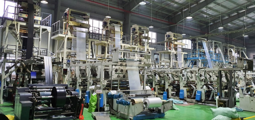 phương pháp sản xuất màng pe