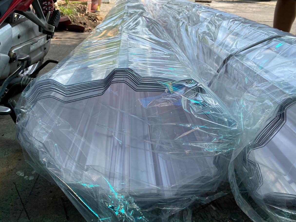 tấm nhựa lấy sáng dạng tôn sóng Nicelight bảo hành 10 năm