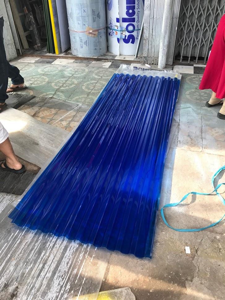tấm nhựa poly tôn sóng tròn Solartuff 11 sóng
