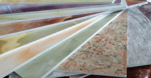 #17 màu tấm nhựa pvc vân đá cẩm thạch ốp tường 2020