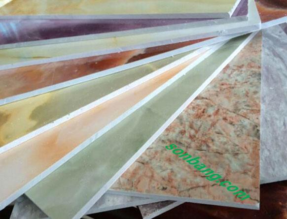 Tấm nhựa PVC giả đá cẩm thạch Pima đặc biệt