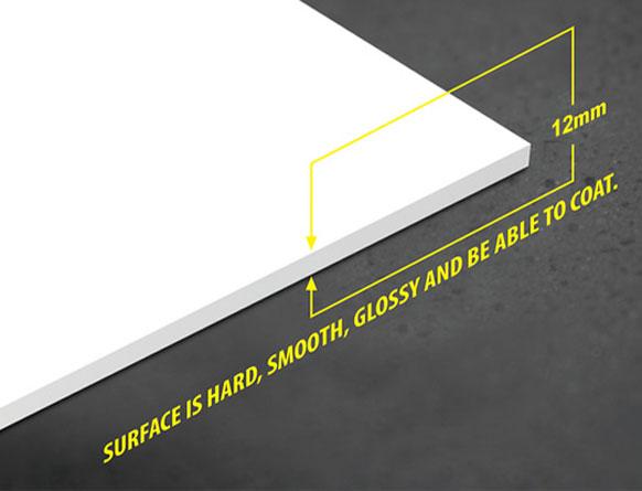 Tấm nhựa PVC foam Pima 12mm trắng