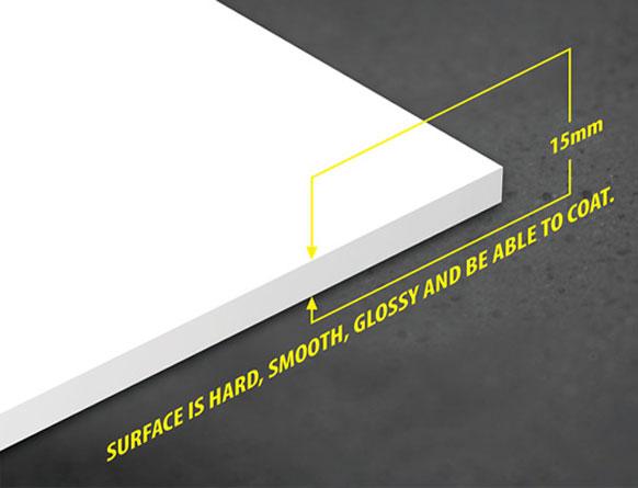 Tấm nhựa PVC foam Pima 15mm trắng