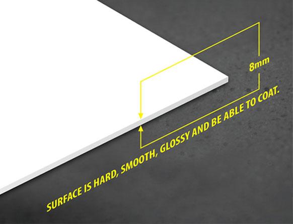 Tấm nhựa PVC foam Pima 8mm trắng