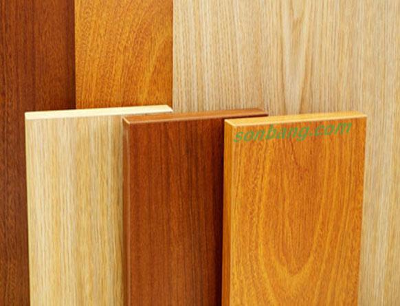 Tấm nhựa giả gỗ ốp tường đặc biệt