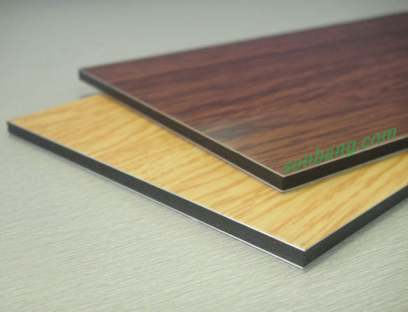 Tấm ốp hợp kim nhôm aluminium vân gỗ