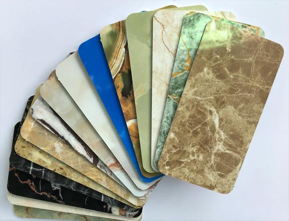 Tấm nhựa giả đá hoa cương PVC màu cẩm thạch SBP