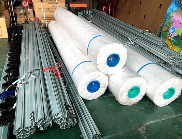 Cuộn màng làm nhà kính PE khổ lớn hàng Việt Nam giá rẻ