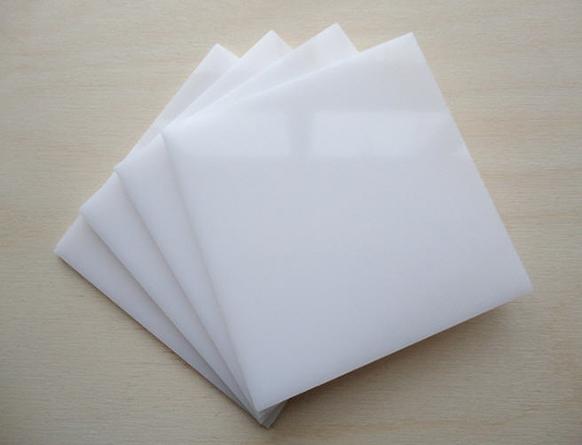 Tấm nhựa Mica Đài Loan Trắng Sữa