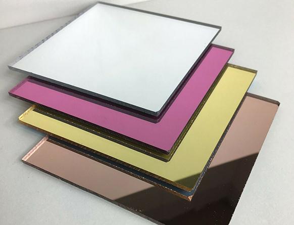 Tấm nhựa Mica thủy tráng Gương