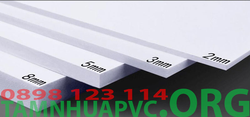 độ dày tấm pvc foam pima 10mm