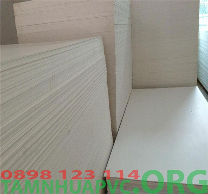 tấm nhựa pvc foam 10mm